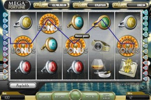 mega fortune fruit machine