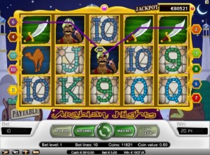 arabian nights online slot