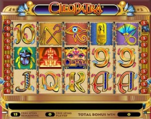cleopatra fruit machines