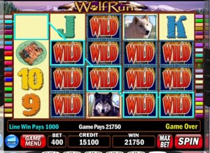 wolf run fruit machine