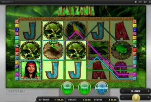 amazonia fruit machine