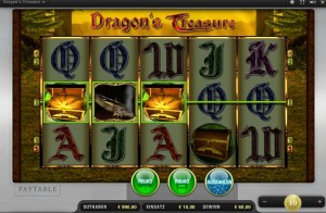 dragons treasure fruit machine