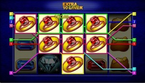 extra 10 liner fruit machine
