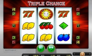 triple chance fruit machines