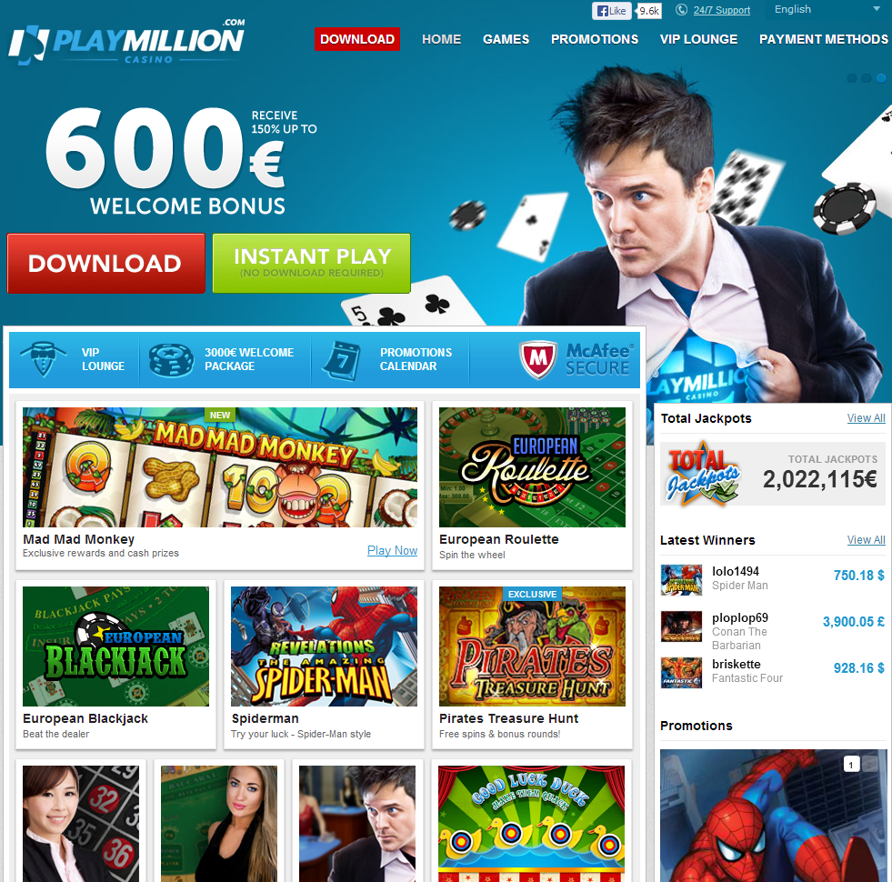 playmillion bonus