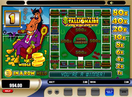 Who wants to be a Stallionaire Fruitmachine